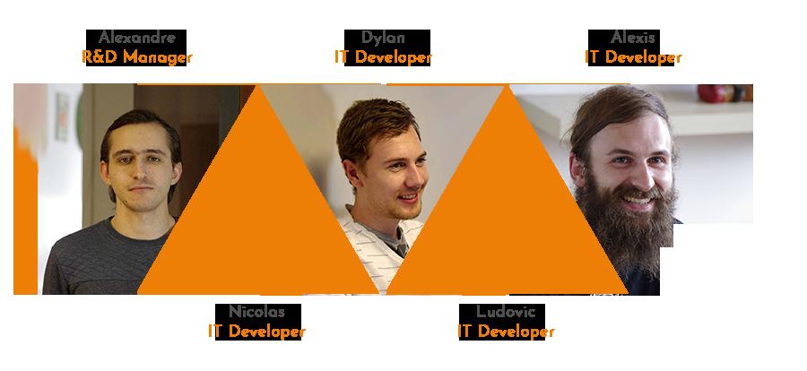 L'équipe Développement